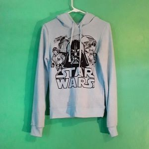 Star Wars Light Blue Hoodie